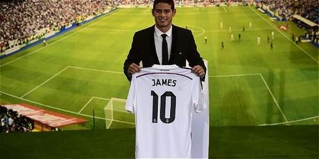 JAMES EN EL REAL MADRID