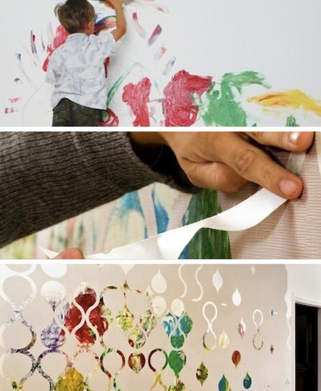 Papel Adhesivo Decorativo Con El Que Puedes Crear Tus
