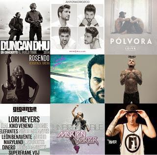 Fiestas de Guadalajara 2014: Leiva, Rosendo, Duncan Dhu, Lori Meyers, Kiko Veneno, Izal, Antonio Orozco...