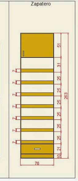Zapatera Ideal Para Un Closet Peque 241 O Dise 241 O Paperblog