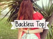 LOOK: Backless Top!