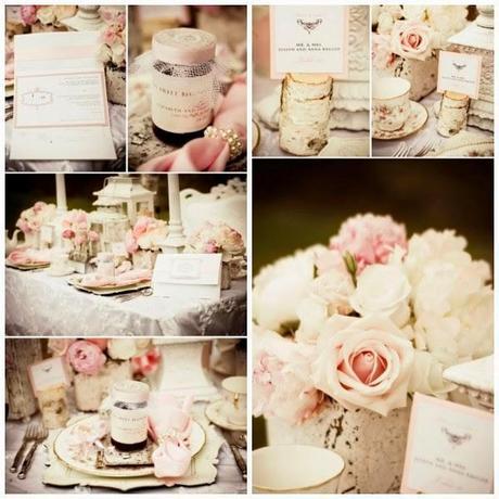 8 ideas para una boda shabby chic for Decoracion estilo romantico