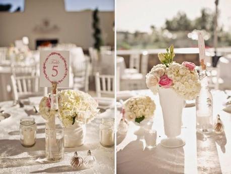 8 ideas para una boda shabby chic - Mesa shabby chic ...