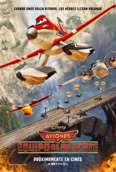 Póster: Aviones: Equipo de rescate (2014)
