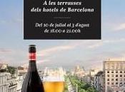 Vespres Inedits 2014, relax, gastronomía terrazas mejores hoteles Barcelona