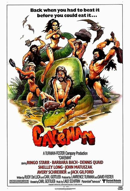 Image result for caveman poster