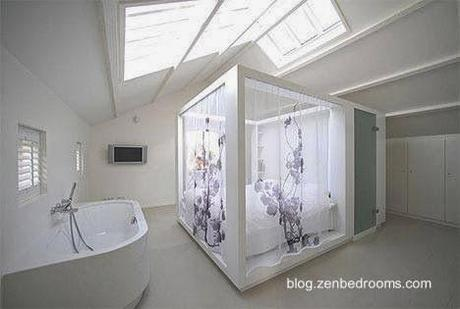 Modernos ba os integrados al dormitorio paperblog for Diseno de habitacion con bano privado