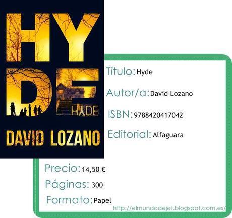 Reseña: Hyde - David Lozano