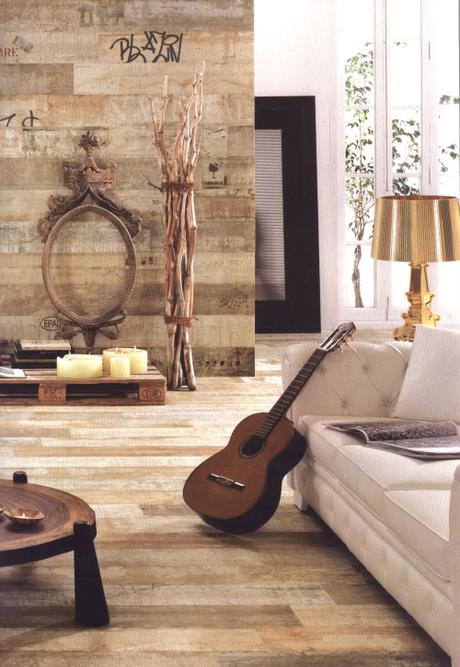 Ideas innovadoras en cer micas paperblog - Plaqueta imitacion madera ...