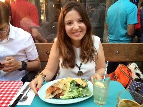 Dinner at Jamie Oliver's in Covent Garden