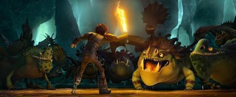 Cómo entrenar a tu dragón 2. Desdentao robaescenas.