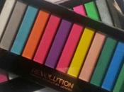 Review paletas MATTE BRIGHTS ACID MakeUp Revolution