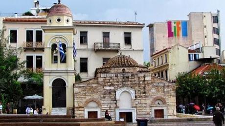 Ágora romana de Atenas. Grecia