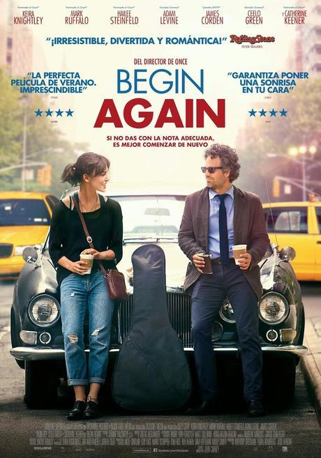 Begin Again. Una vez... más.