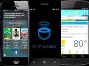 Cortana Siri, ¿cuál mejor?