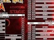 Horarios festival Leyendas Rock 2014