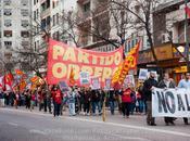 Frente Izquierda movilizó contra sanción Cintia Frencia