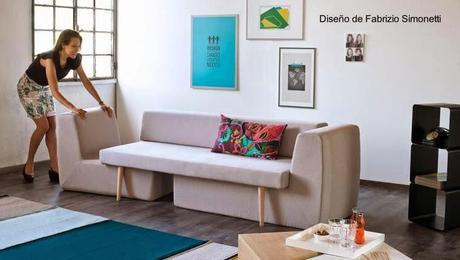 Sof de tres m dulos convertible paperblog - Sofas por modulos ...