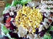 Receta Ensalada Completa Multicolor