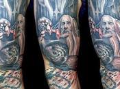 Tatuajes alucinantes basados obra Tolkien