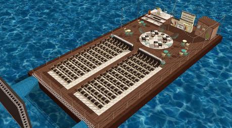 Seagram s gin swim in un cine flotante en el puerto deportivo de alicante paperblog - Cines puerto deportivo getxo ...