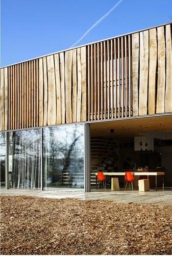 Casa minimalista en los bosques de bretana minimal style for Casa minimalista bosque