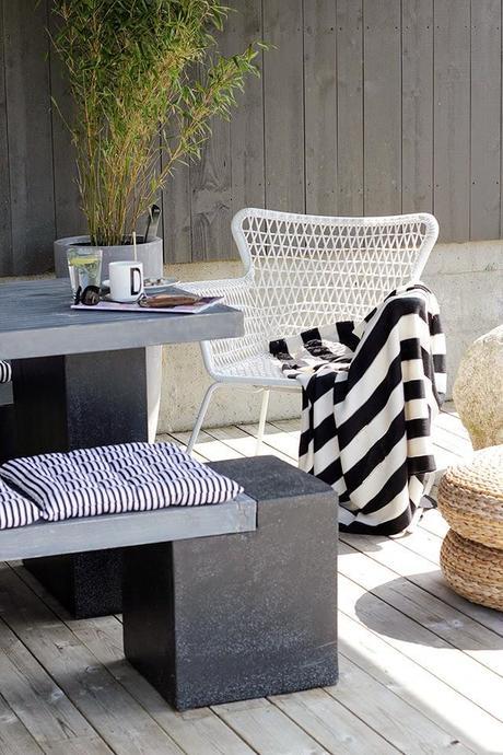 Sillon h gsten de ikea ideal para la terraza paperblog - Puff de ikea ...
