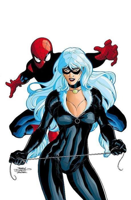 spiderman gata negra