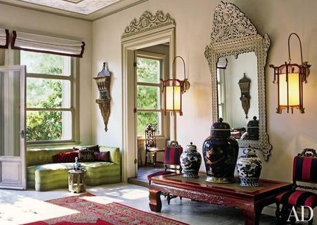 Una casa colonial llena de antig edades paperblog - Decoracion con antiguedades ...