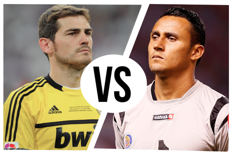 Keylor Navas vs Iker Casillas