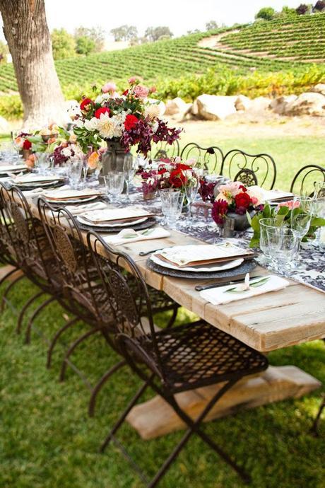 3 mesas bonitas para poner en verano paperblog for Como poner una mesa bonita