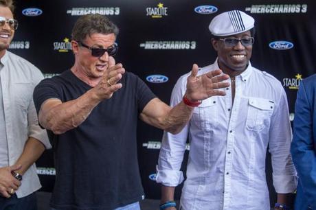 Una tarde con Sylvester Stallone y sus mercenarios