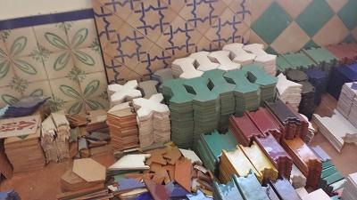 Azulejos artesanos para la cocina paperblog - Azulejos artesanales ...