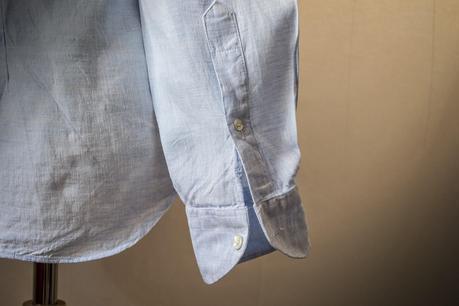 Review camisa a medida de Lino -Canclini- de Haberdashers.