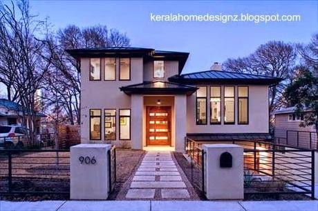 Las casas americanas modernas paperblog Casas modernas americanas