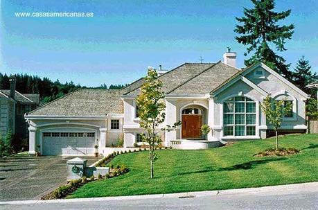 Las casas americanas modernas paperblog for Casa modelo americano
