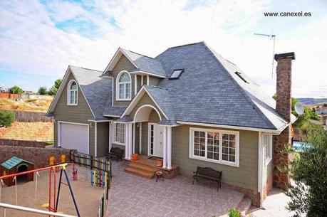 Las casas americanas modernas paperblog - Casas de madera de lujo en espana ...