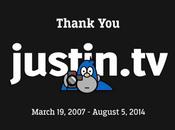 Justin.tv cierra servicios después siete años