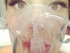 Lady Gaga, hospitalizada altura