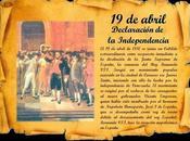 abril 1810 grito independencia contra yugo español