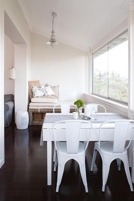 Decoracion Apartamentos Peque?os De Playa ~   blanca y sencilla en un peque?o apartamento de playa  Paperblog