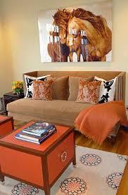 Bellas Salas En Color Naranja Y Marr 243 N Paperblog