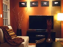 orange and black living room ideas bellas salas en color naranja y marr 243 n paperblog 25311