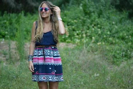 COLOURFUL ETHNIC DRESS