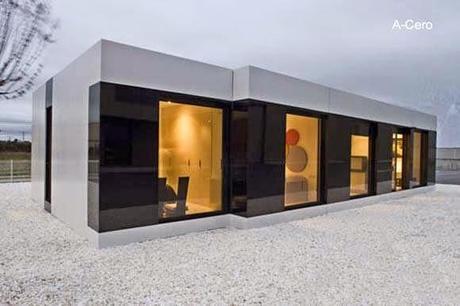 Casas modernas prefabricadas y modulares paperblog - Casas americanas espana ...