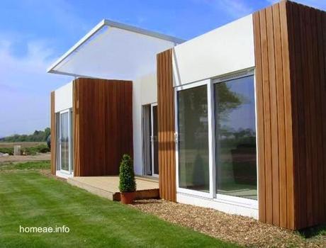 Casas modernas prefabricadas y modulares paperblog for Casas prefabricadas modernas