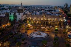 Centro de Guadalajara. Palacia Municipal.