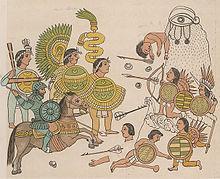 Conquistadores españoles y aliados tlaxcaltecas invaden Jalisco.