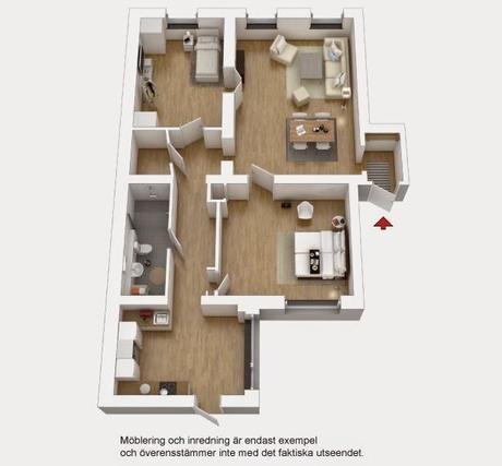 Elegante piso de 115m2
