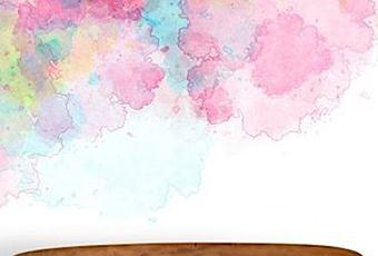 Tendencias acuarelas en las paredes paperblog - Tendencias en pintura de paredes ...